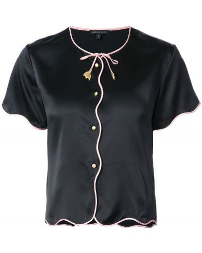 Топ с цветочным принтом с вышивкой на завязках Morgan Lane