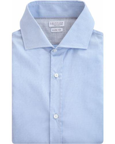 Рубашка хлопковая Brunello Cucinelli