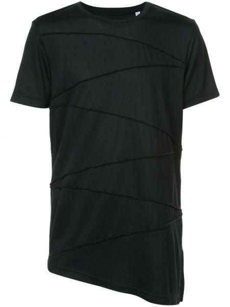 Koszula krótkie z krótkim rękawem asymetryczny z wzorem Private Stock