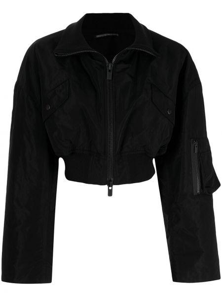 Черная куртка из полиэстера Yohji Yamamoto