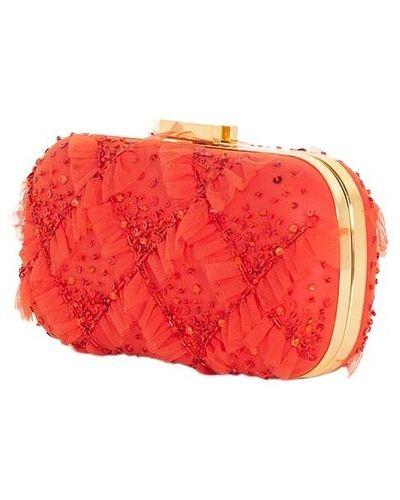 Kopertówka - pomarańczowa Elisabetta Franchi