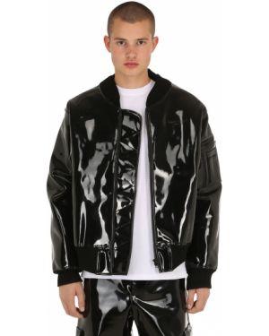 Prążkowana czarna kurtka oversize Last Heirs