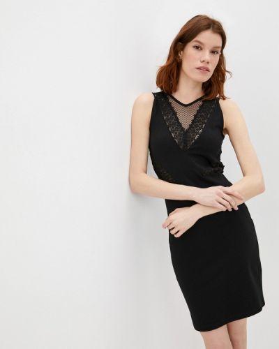 Черное платье-футляр French Connection
