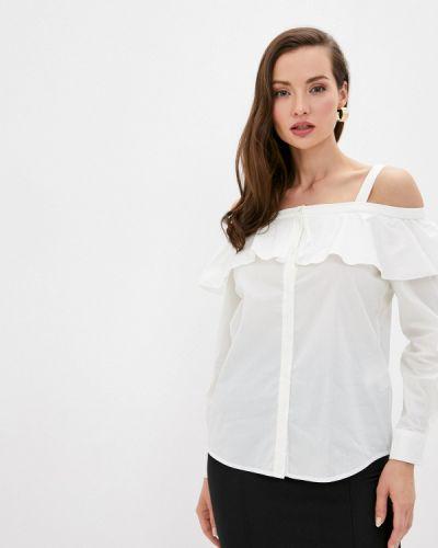 Белая блузка с открытыми плечами Love Republic