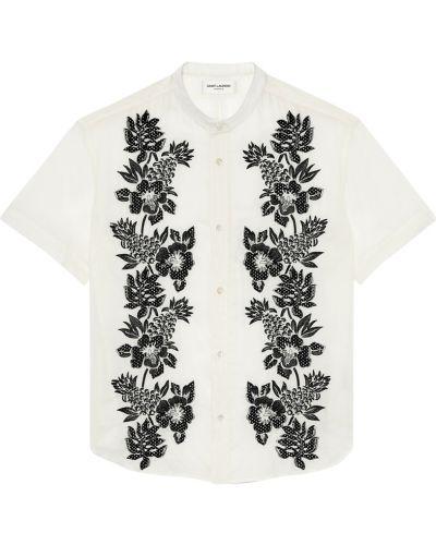 Koszula z paskiem Saint Laurent