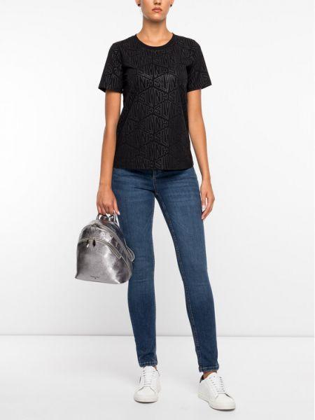 Czarna t-shirt Silvian Heach