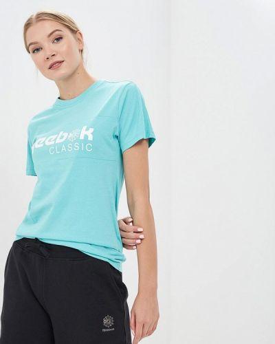 Бирюзовая футболка Reebok Classics