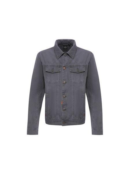 Хлопковая черная джинсовая куртка прозрачная Harley Davidson