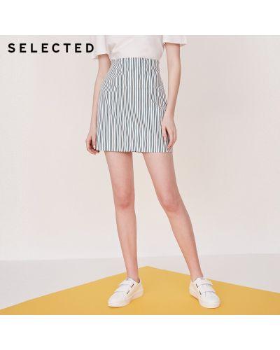 Белая юбка Selected