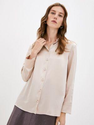 Бежевая зимняя блузка Max Mara Leisure
