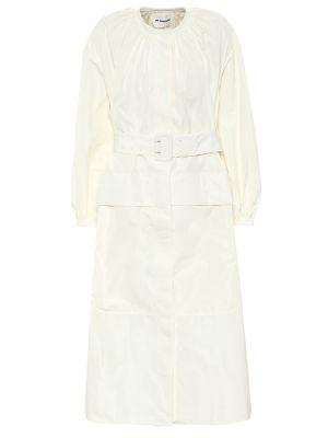 Платье миди - белое Jil Sander