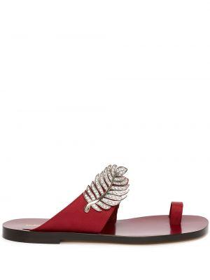 Sandały plaskie skorzane Nicholas Kirkwood