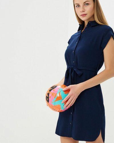 Синее платье рубашка Dorothy Perkins
