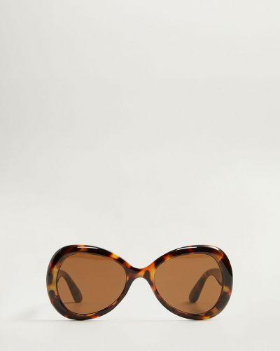 Солнцезащитные очки коричневый темно-коричневый Mango