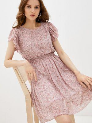 Розовое прямое платье Grafinia