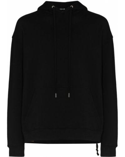 Czarna bluza z długimi rękawami Ksubi