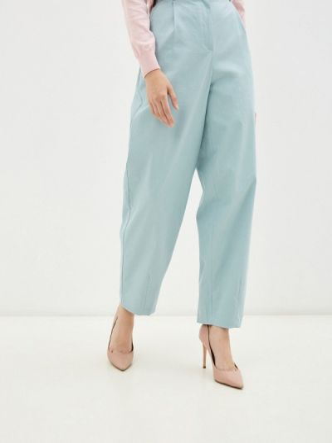 Бирюзовые весенние брюки Gloss