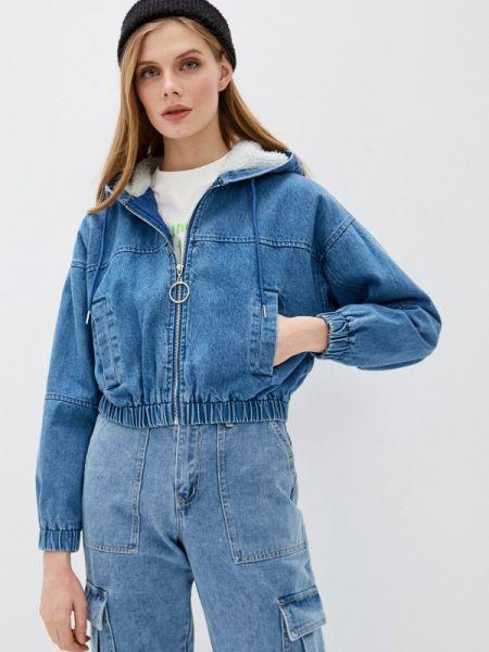 Синяя джинсовая куртка свободного кроя Befree