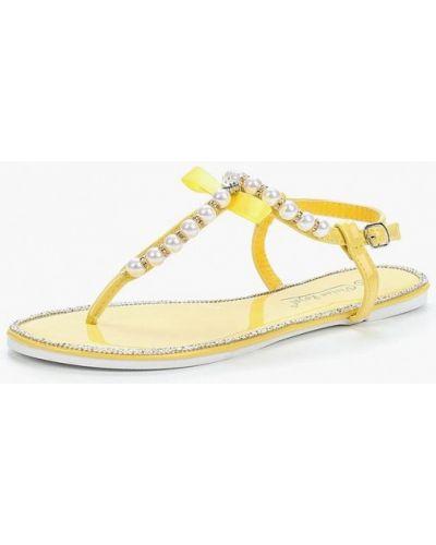 Желтые сандалии Vivian Royal