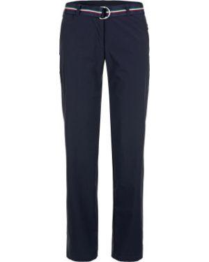 Зауженные спортивные брюки - синие Fila