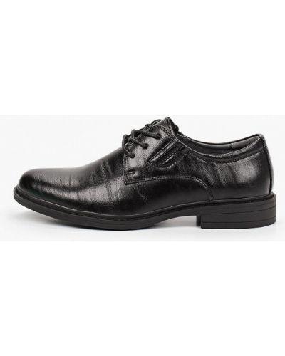 Кожаные черные туфли Berten