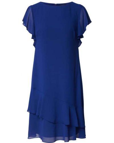 Niebieska sukienka rozkloszowana Shiwi