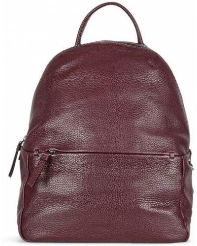 Кожаный рюкзак маленький свободного кроя Ecco