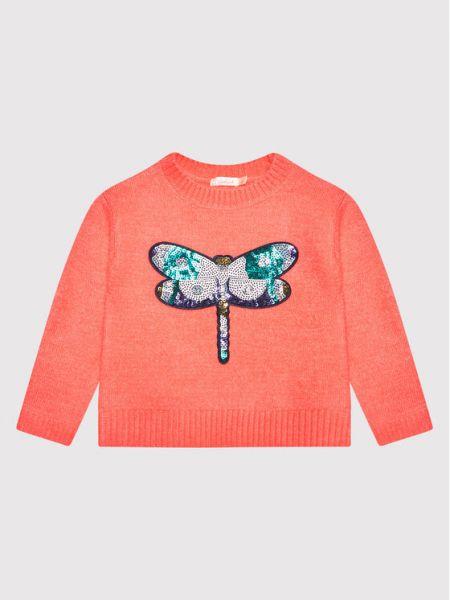 Różowy sweter Billieblush