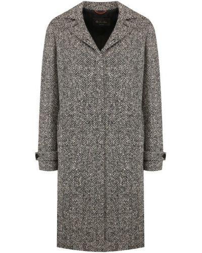 Пальто шерстяное на пуговицах Loro Piana