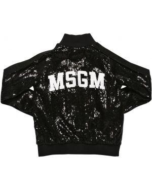 Свитшот с логотипом эластичный Msgm