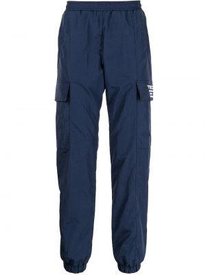 Niebieskie spodnie z haftem Misbhv