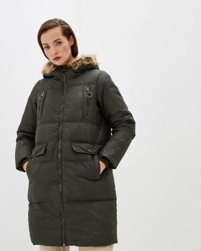 Зимняя куртка осенняя зеленая Vero Moda