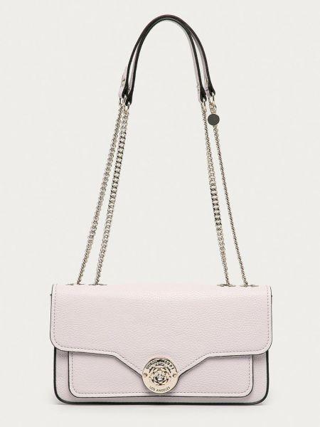 Розовая сумка через плечо Guess