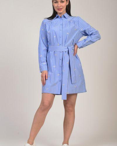 Хлопковое джинсовое платье Liu Jo Jeans