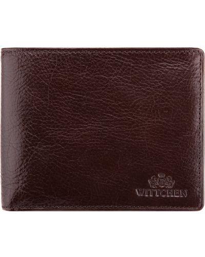 Кожаный кошелек - коричневый Wittchen