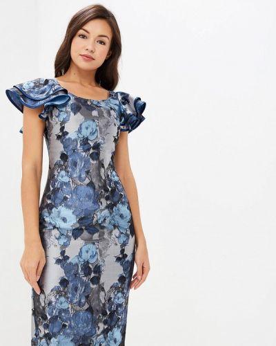 Вечернее платье осеннее серебряный Madam T