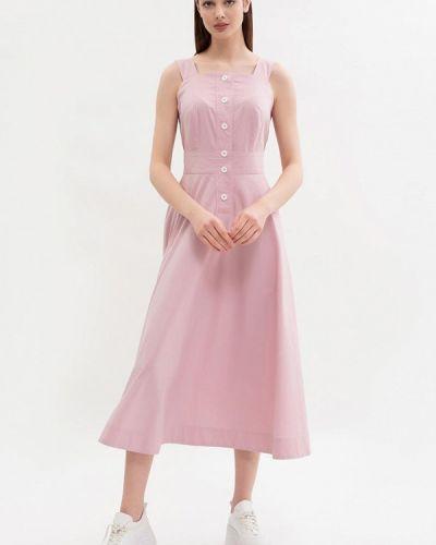 Повседневное платье - розовое Maxa