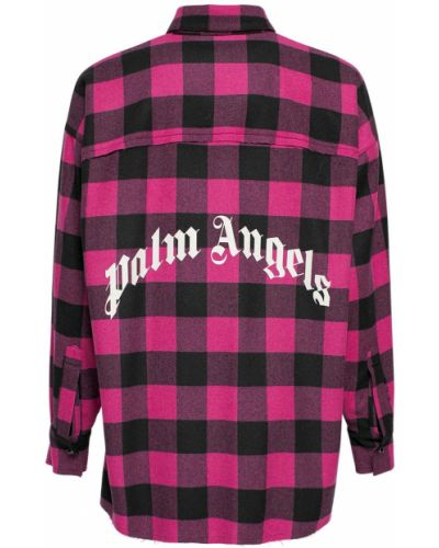 Рубашка на пуговицах Palm Angels