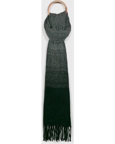 Черный шарф трикотажный Review