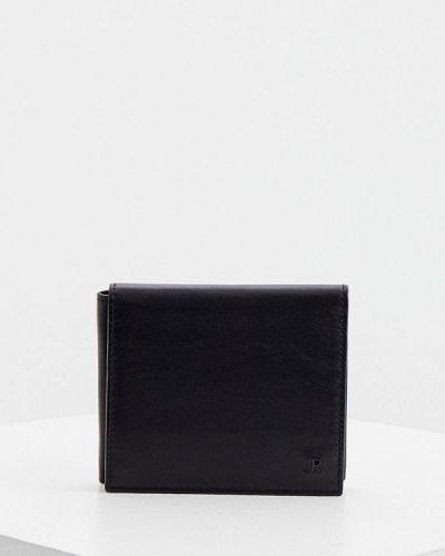 Черный кожаный кошелек John Richmond