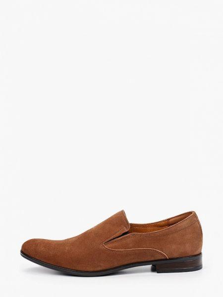 Туфли замшевые коричневый Salamander