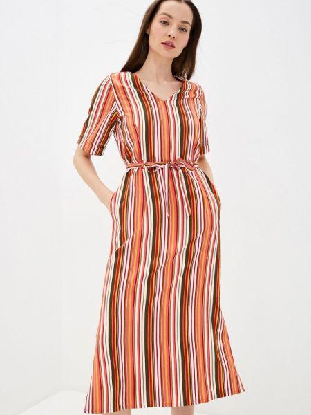 Разноцветное платье Unq