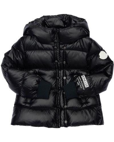 Нейлоновая куртка на молнии с подкладкой Moncler