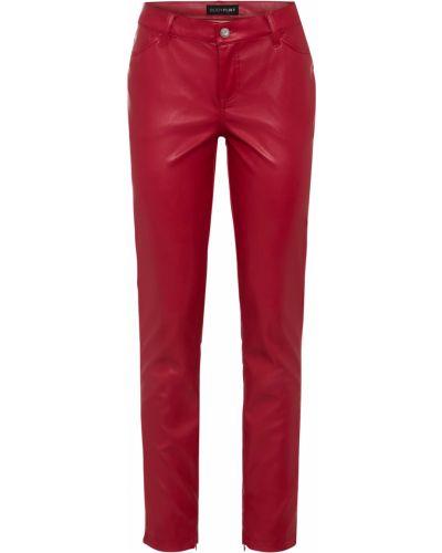 Красные кожаные брюки Bonprix