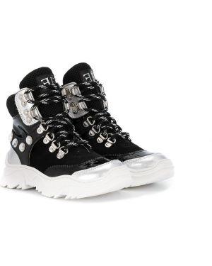 Черные кроссовки Ermanno Scervino Junior