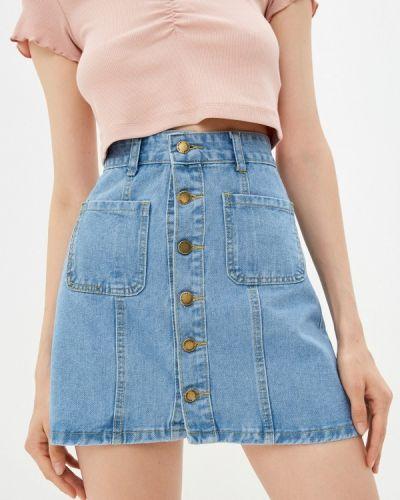 Джинсовая юбка Moki