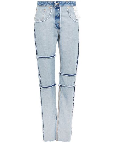Spodnie - niebieskie Mm6 Maison Margiela