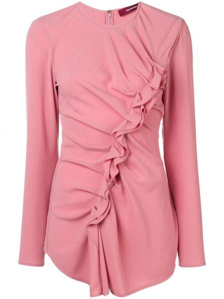 Блузка с длинным рукавом с рюшами на молнии Sies Marjan