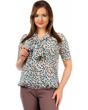 Блузка на резинке прямая Liza Fashion