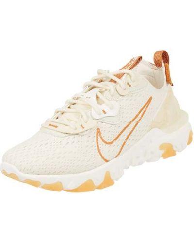 Beżowe sneakersy Nike